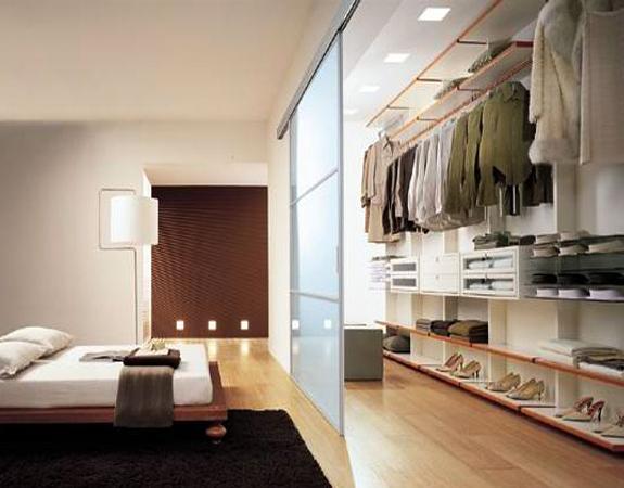 Место хранения в спальне