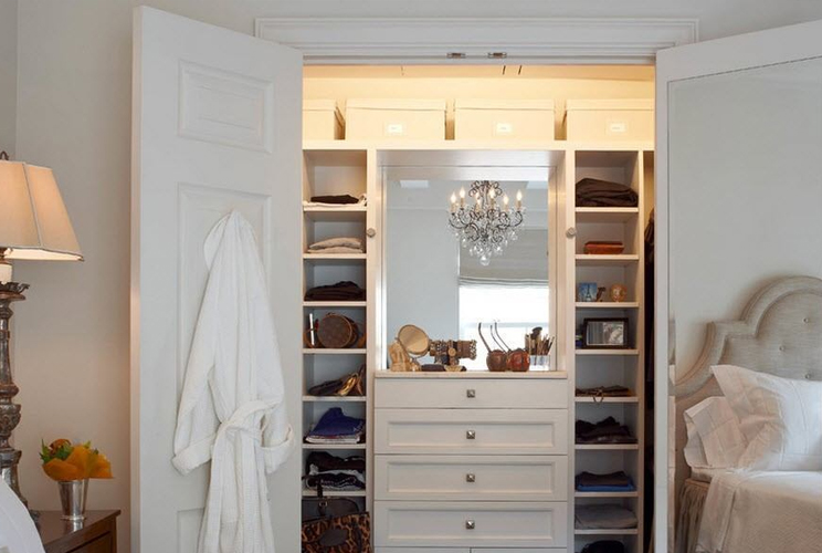 Мини гардеробные комнаты дизайн проекты