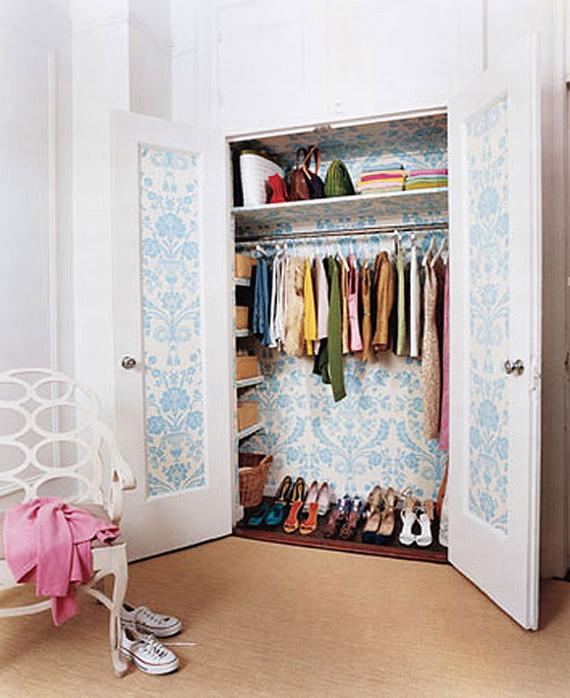 Мини гардеробные комнаты