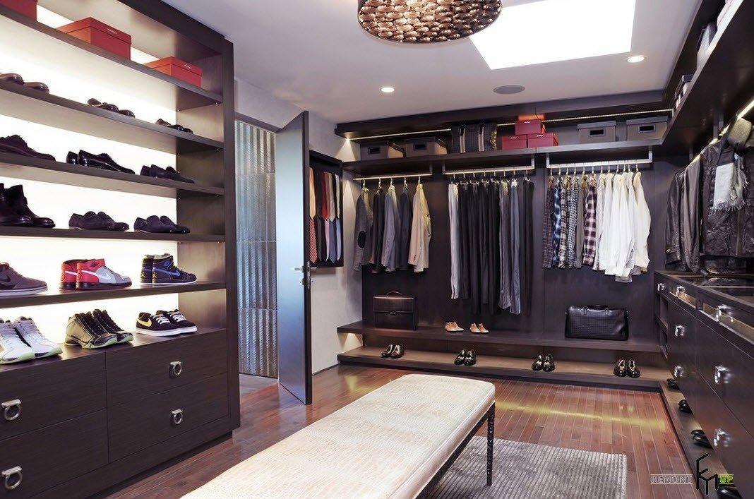 Мужская гардеробная