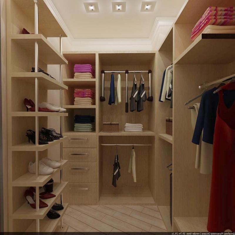 Гардеробная комната планировка с размерами, советы ... Дизайн Спальни С Угловой Гардеробной