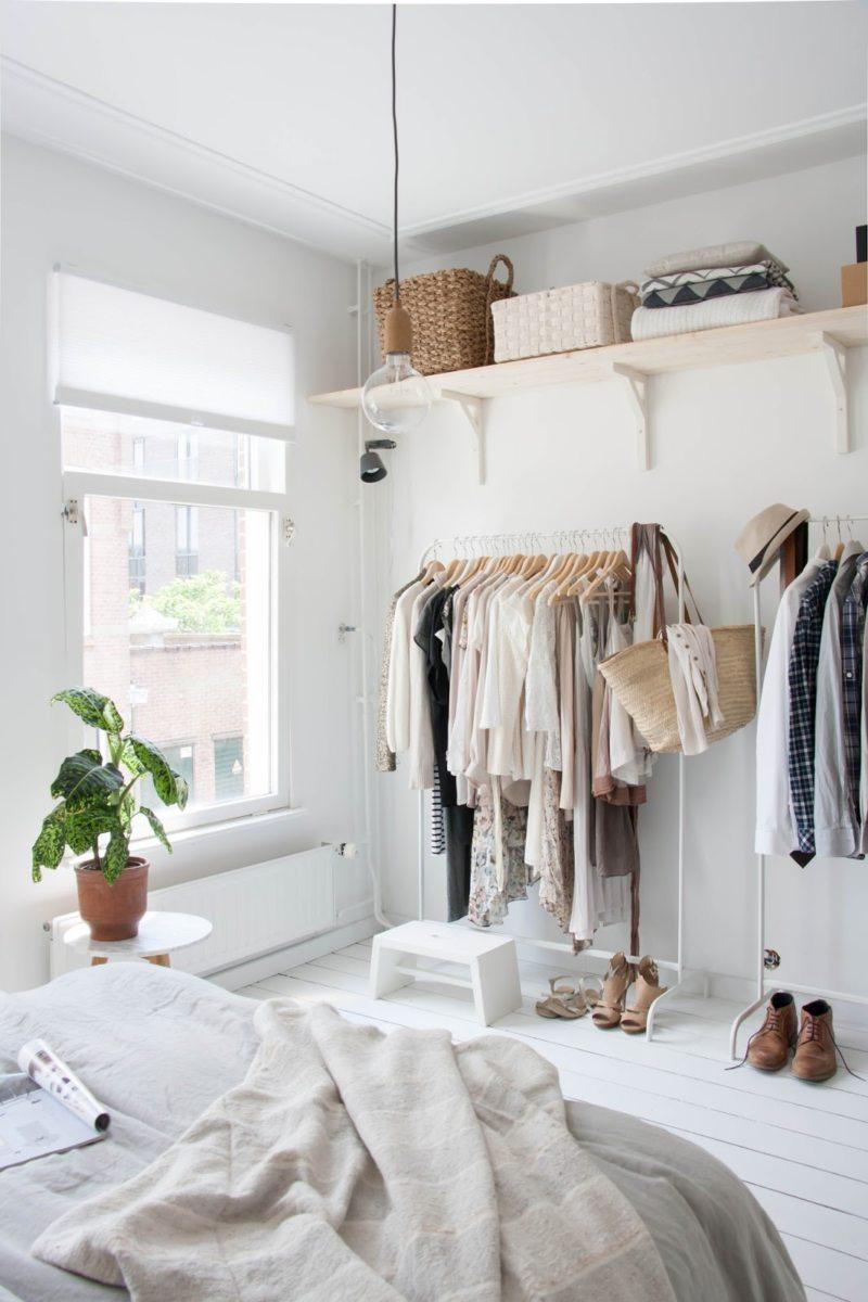 Особенности гардеробной в спальне