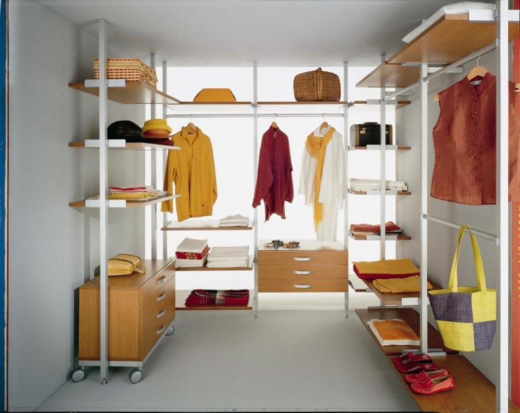 Примеры гардеробных комнат