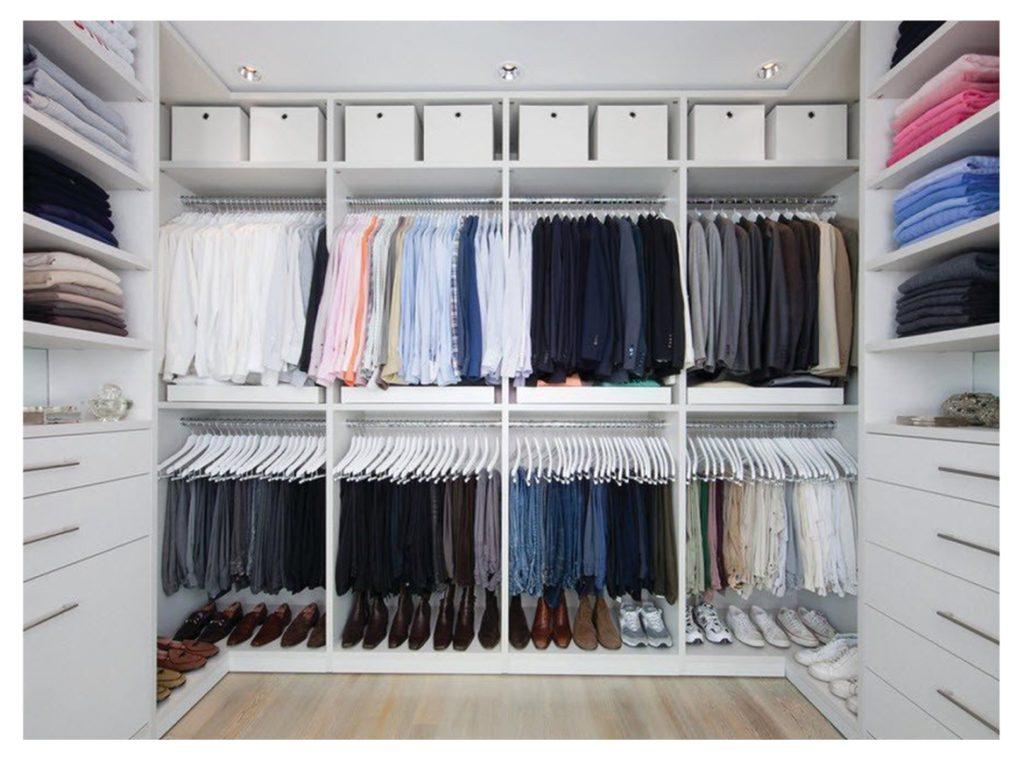 Наполнение для шкафов и гардеробных, как заполнить пространс.