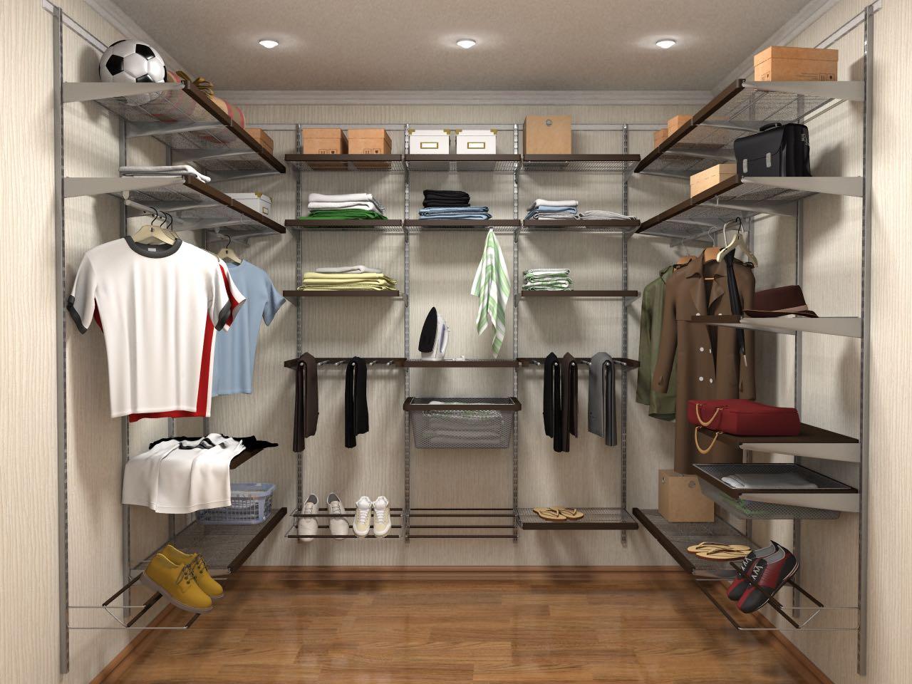 Расположение гардеробного шкафа по бокам от изголовья вашей кровати