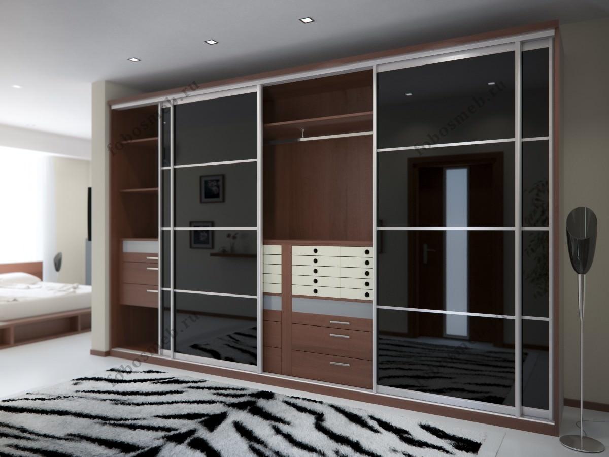 Шкаф гардеробный из шпона