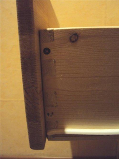 Вид ящика сбоку