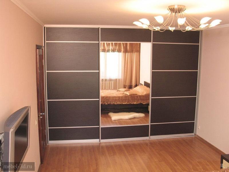Встроенный вариант шкафа