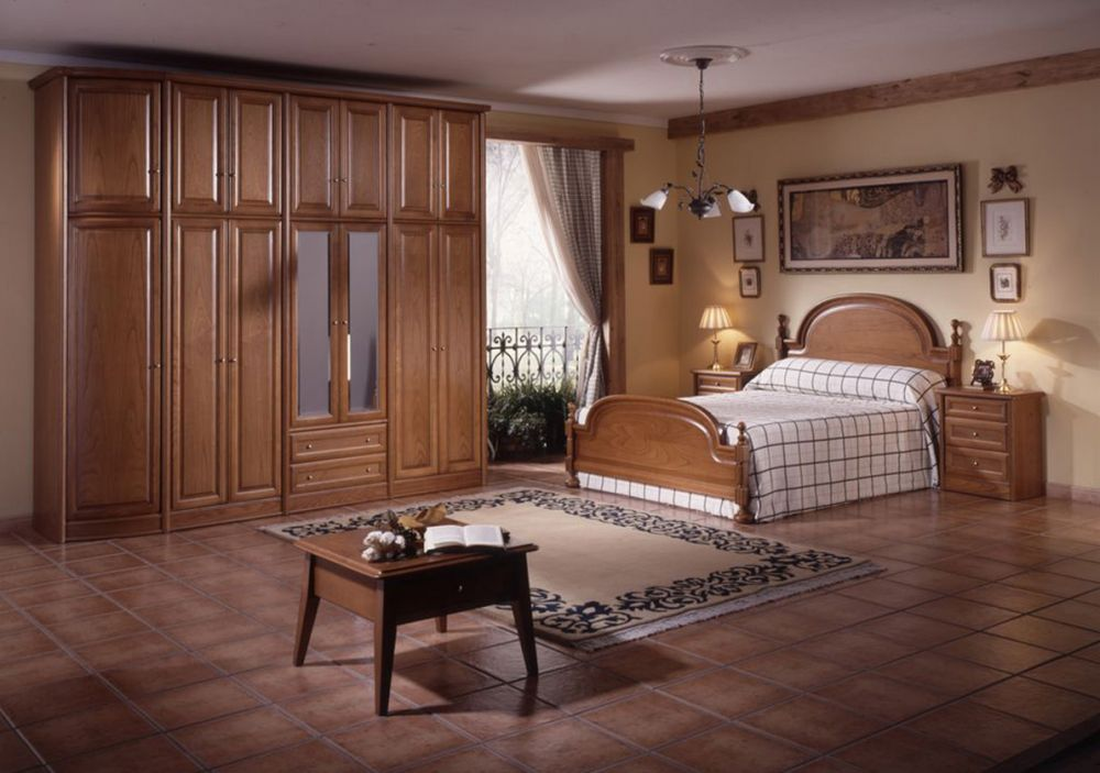 Аккуратная мебель в спальню