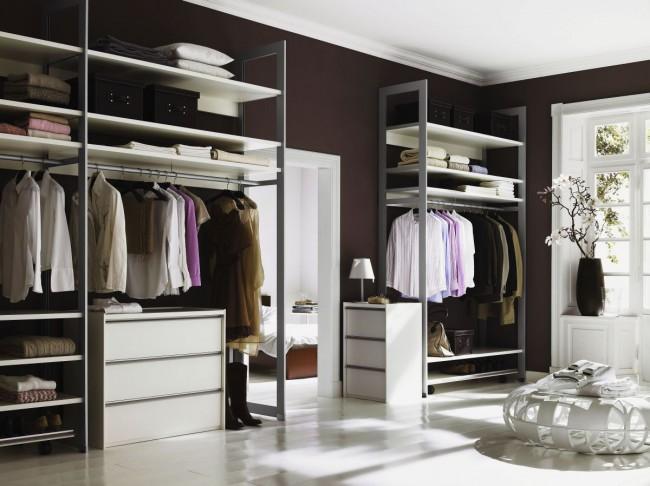 Алюминиевая профильная гардеробная система