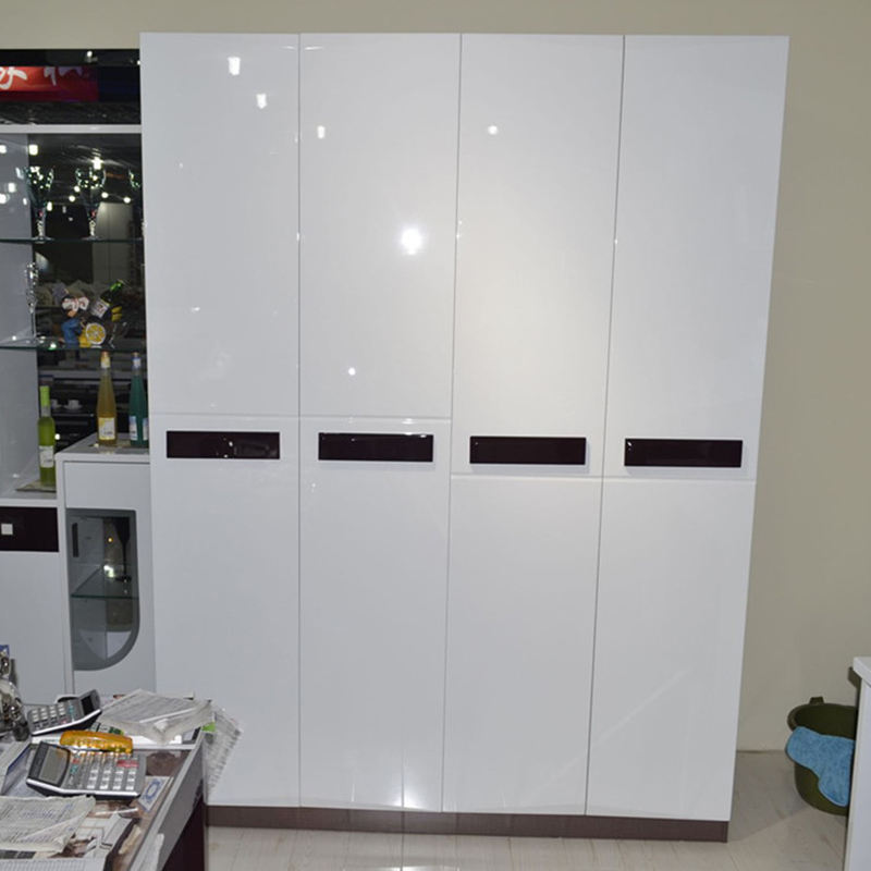 Белая декоративная пленка для мебели