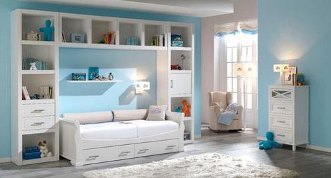 Белая мебель для детской комнаты девочки
