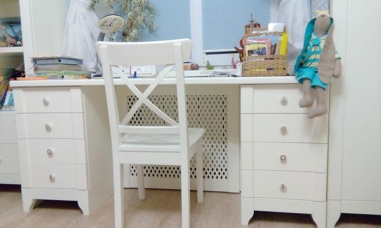 Белая мебель для детской комнаты впишется в любой интерьер