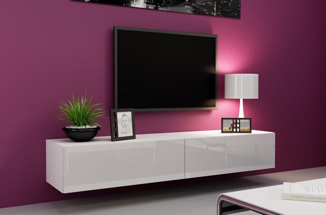 Белая мебель под телевизор