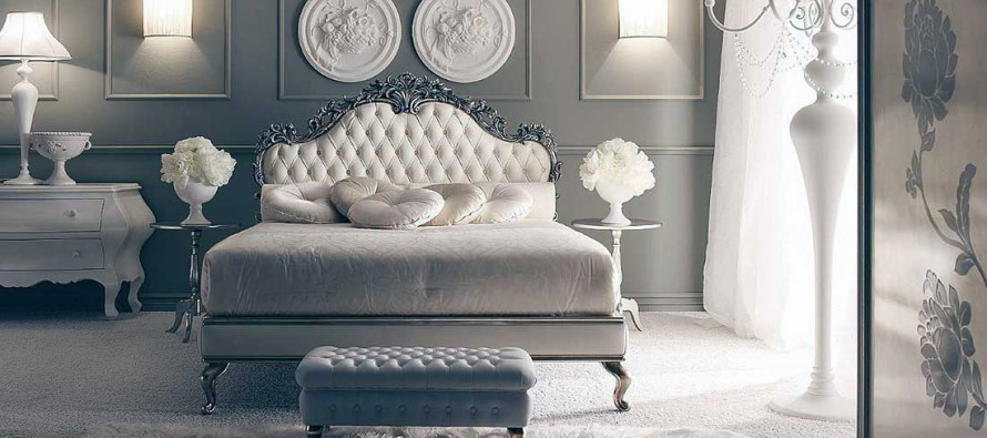 Белоснежная мебель в спальню