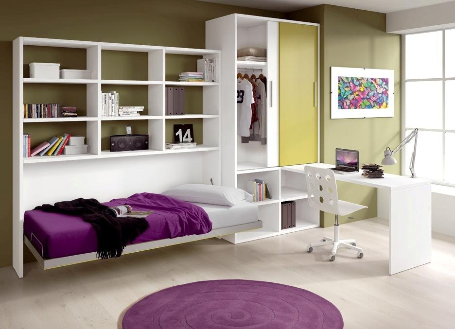 Белоснежная подростковая мебель