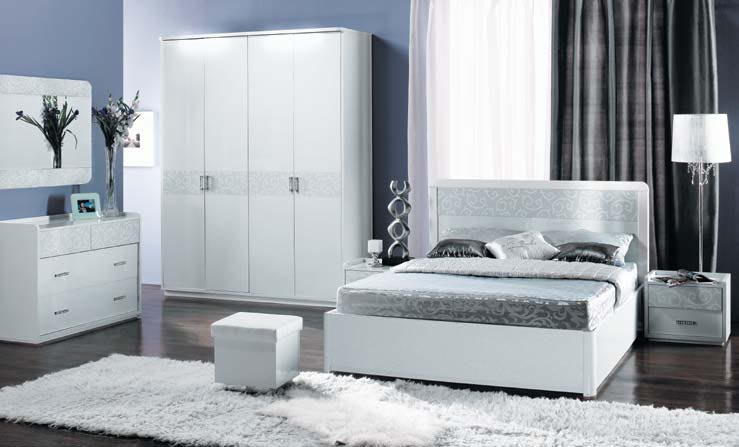 Белые комплекты мебели для спальни