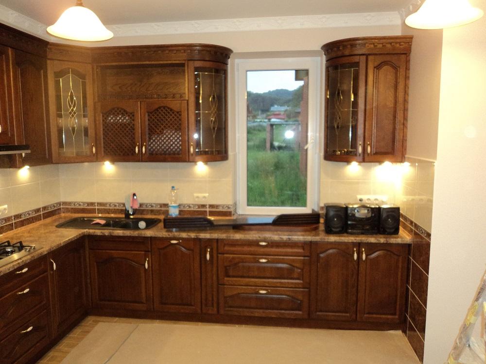 Безопасная деревянная мебель для кухни