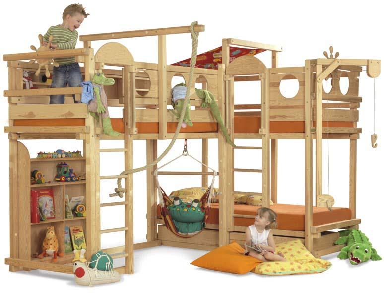 Безопасная детская игровая мебель