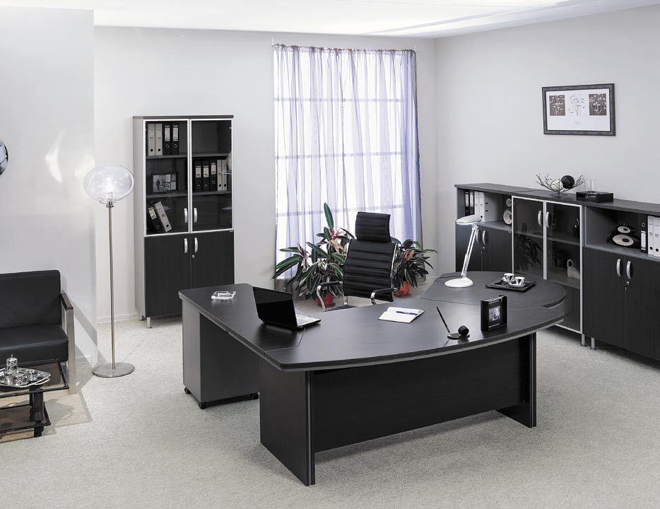 Черная мебель для руководителя