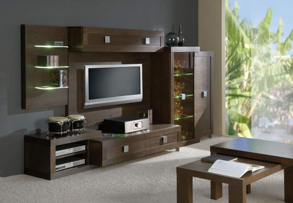Деревянная мебель для гостиной