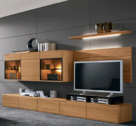 Деревянная мебель под телевизор