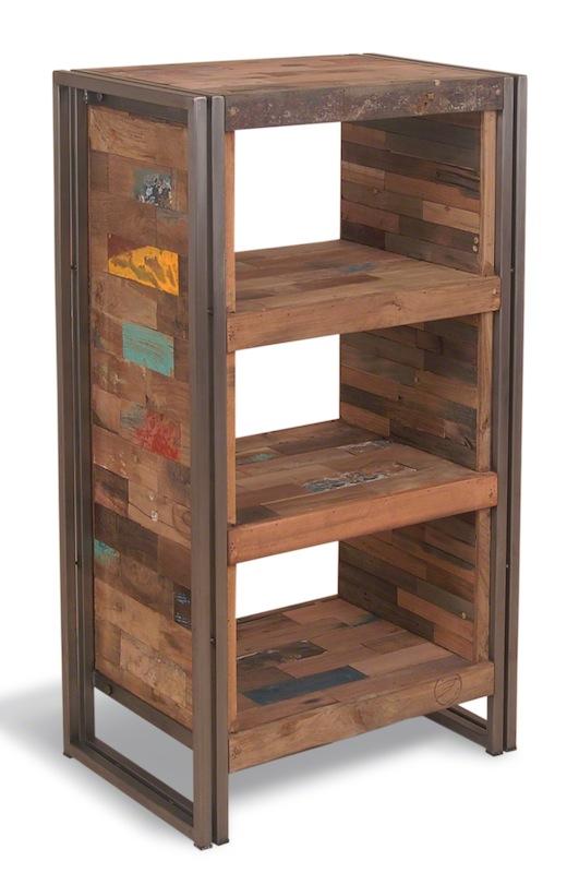 Деревянные хозяйственные этажерки для дома