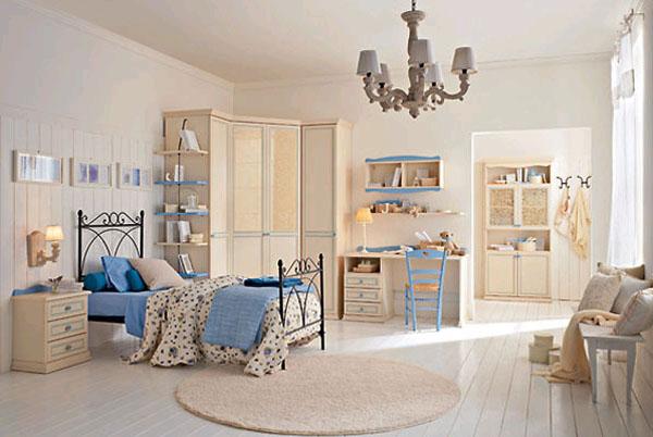 Десткая комната в стиле прованс для мальчика