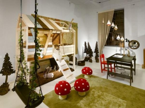 Детская комната для девочек школьного возраста
