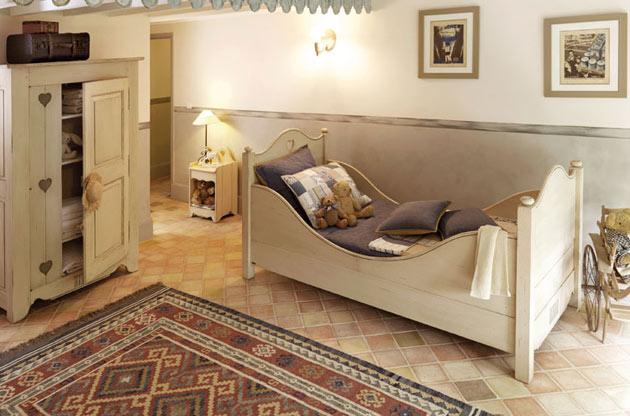 Детская комната, оформленная в стиле прованс