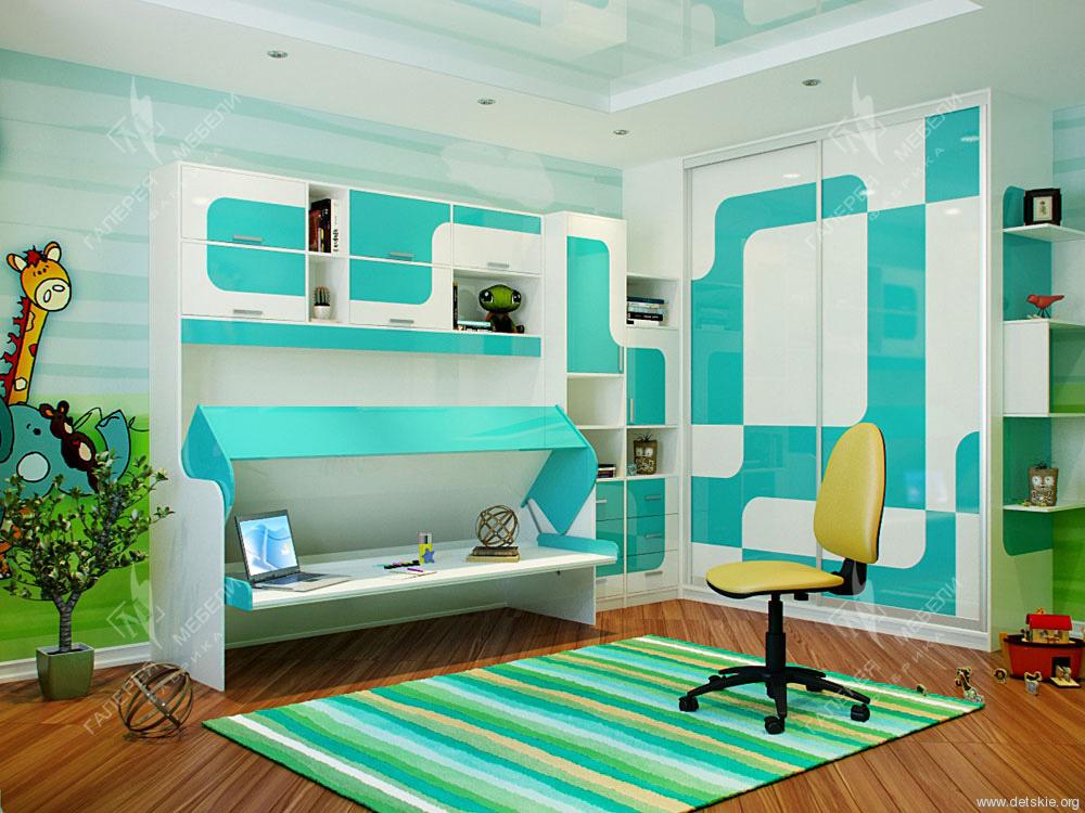 Детская мебель трансформер для подросткового возраста