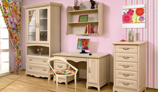 Детская мебель в стиле прованс для дома