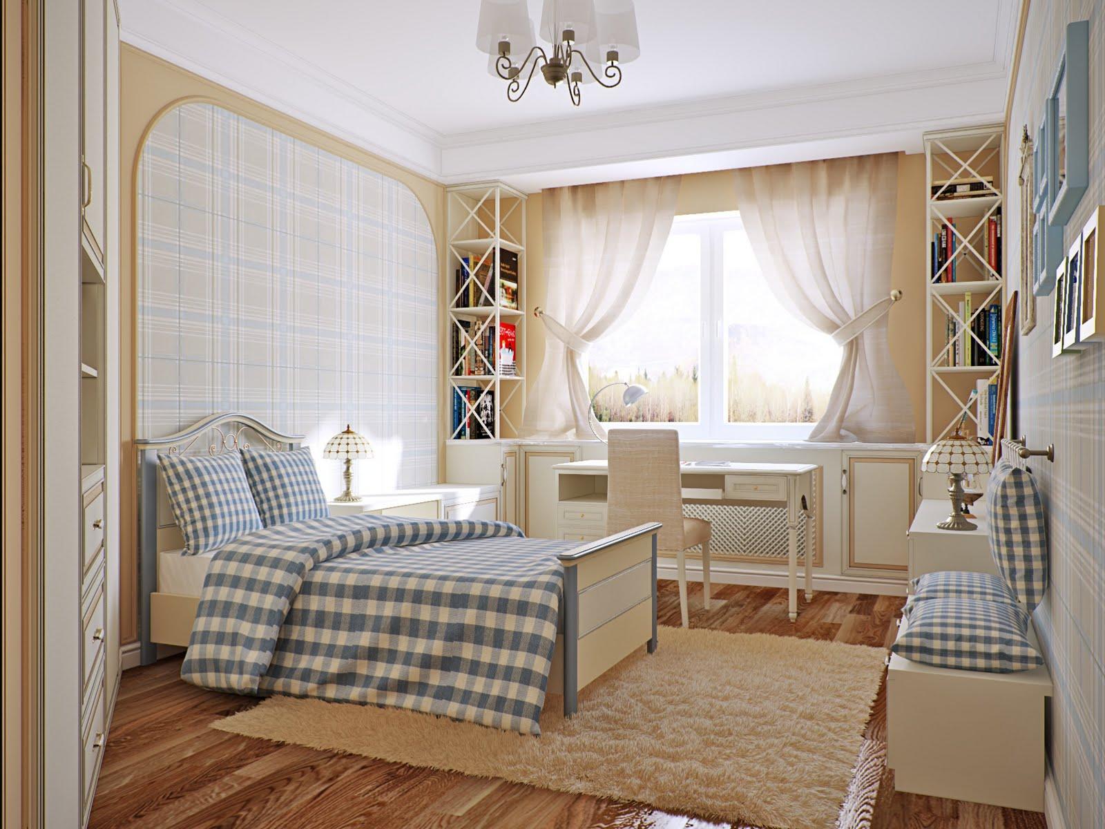 Интерьер комнаты с большом доме