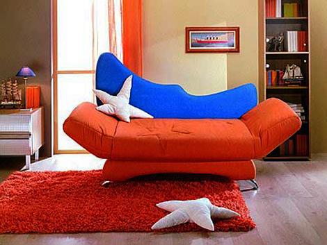 Детская яркая мягкая мебель