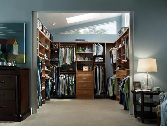 Дизайн гардеробных