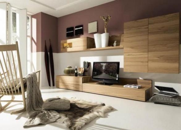 Дизайн гостиной с современной мебелью