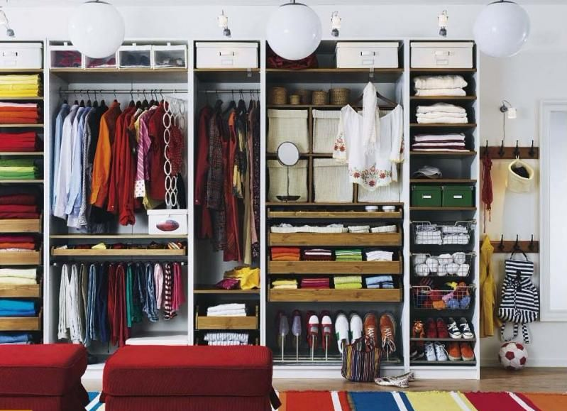 Дизайн и планировка гардеробной