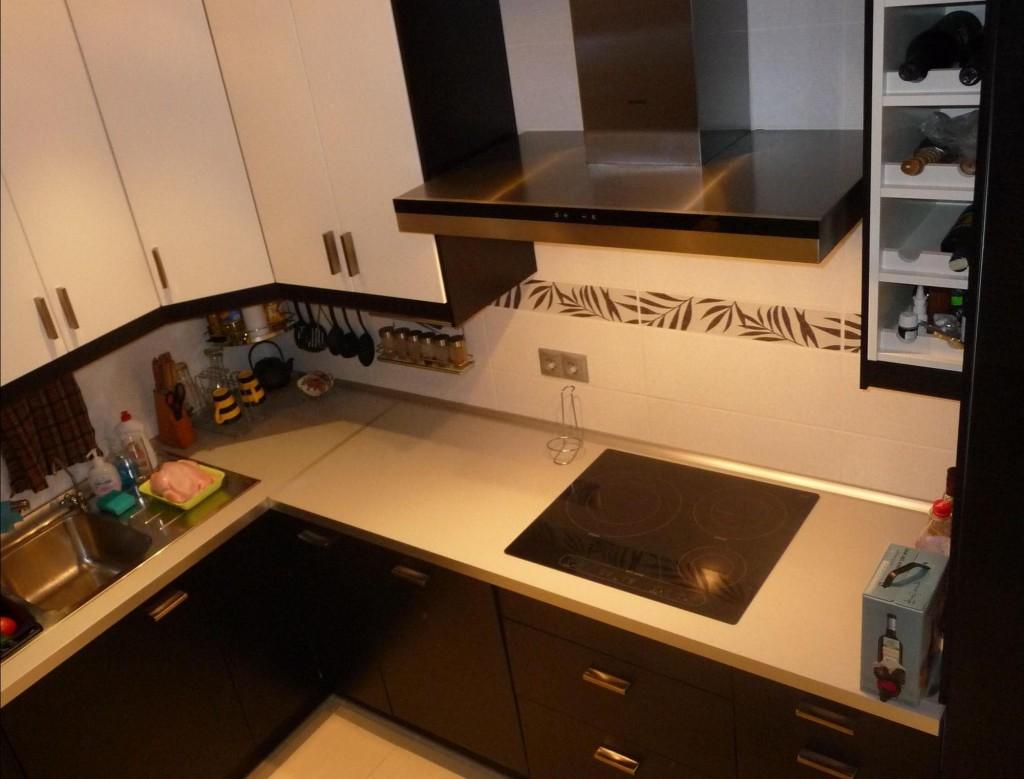 Дизайн углловой кухни