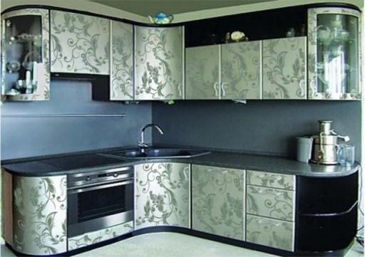 Эффектная реставрация кухонного гарнитура