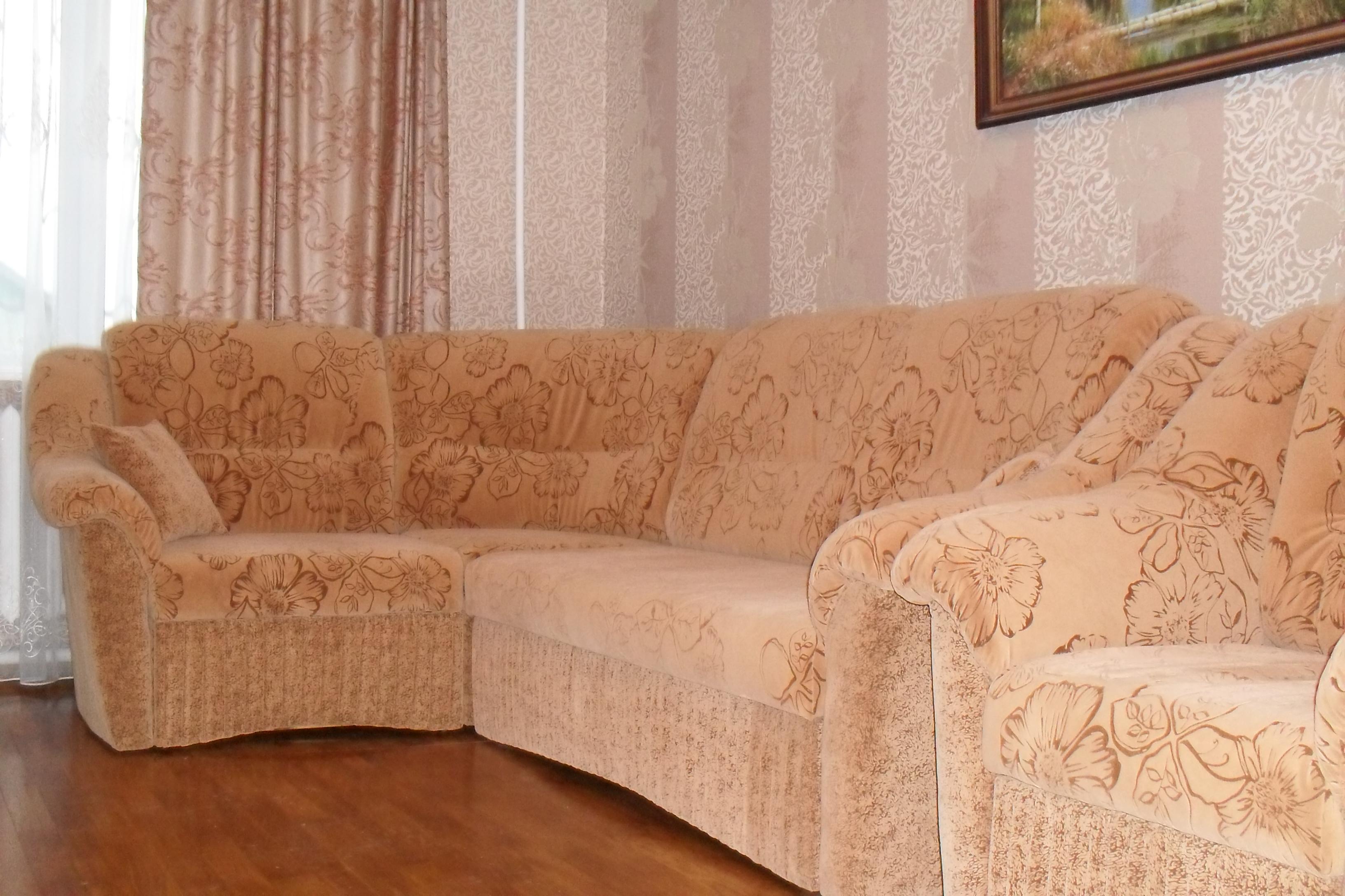 Флок на мебели