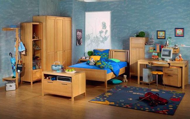 Функциональная детская мебель из массива