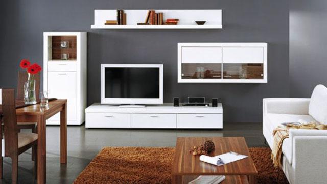 Функциональная мебель для гостинной в современном стиле