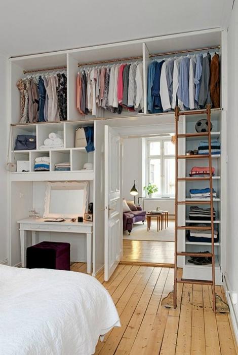 Функциональный гардероб 4 кв.м