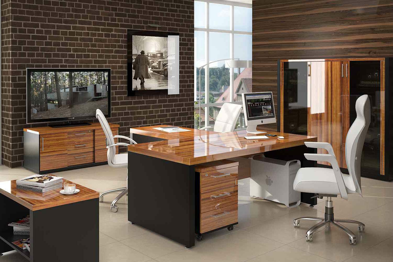 Глянцевая мебель для руководителя