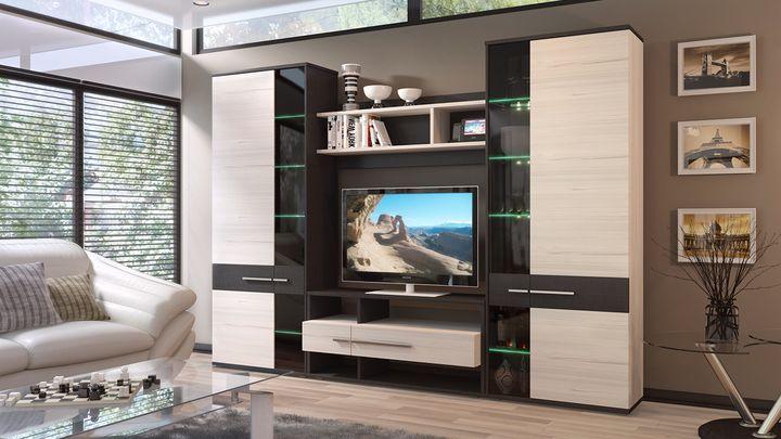Гостиная с практичной мебелью