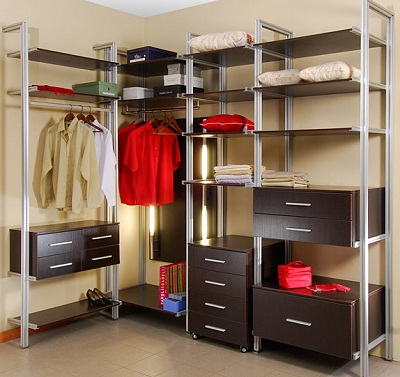 Грамотное наполнение гардероба 4 кв.м