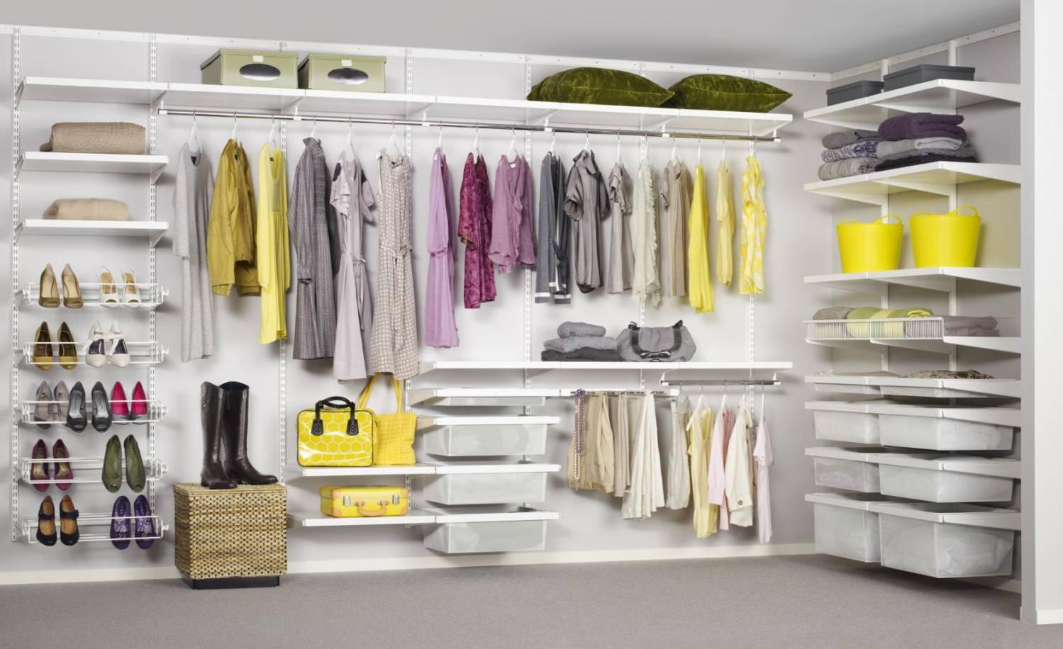 Характеристики сетчатой гардеробной системы