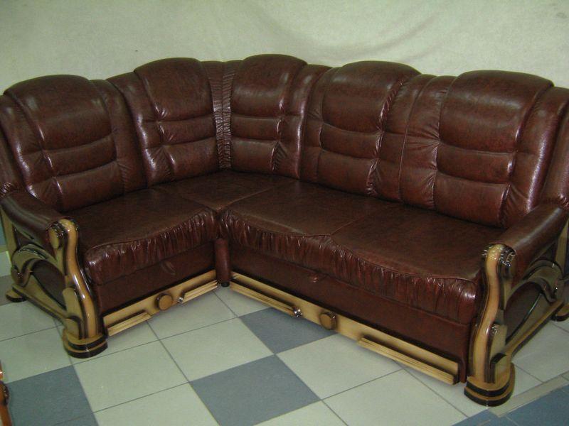 Хорошая перетяжка кожаной мебели