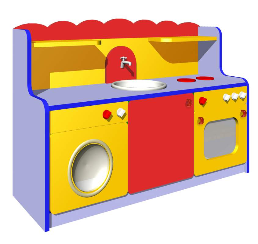 Игровая мебель в детский сад в помещение
