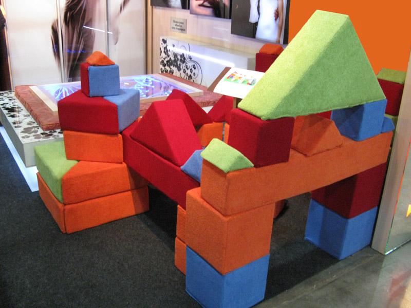 Игровая мягкая детская мебель